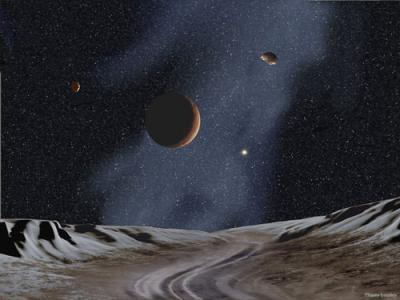 Plutón: Planeta Enano.