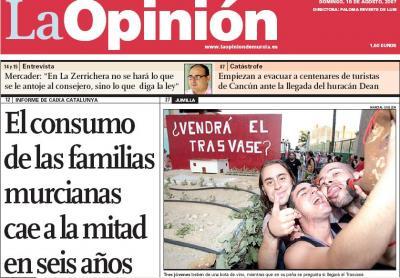 El Tito en Jumilla... y en La Opinión.